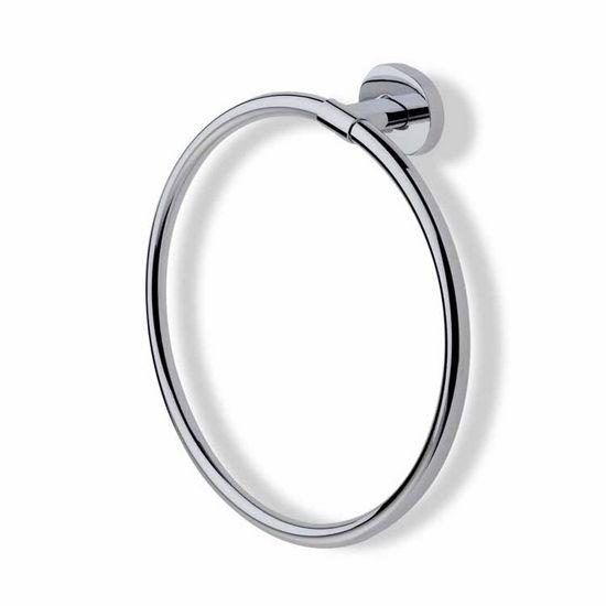 Chrome Circle Towel Ring