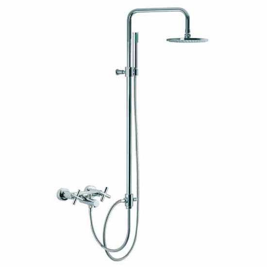 Nameeks Fima Nm S5304 2cr Wall Mounted Tubshower Faucet With
