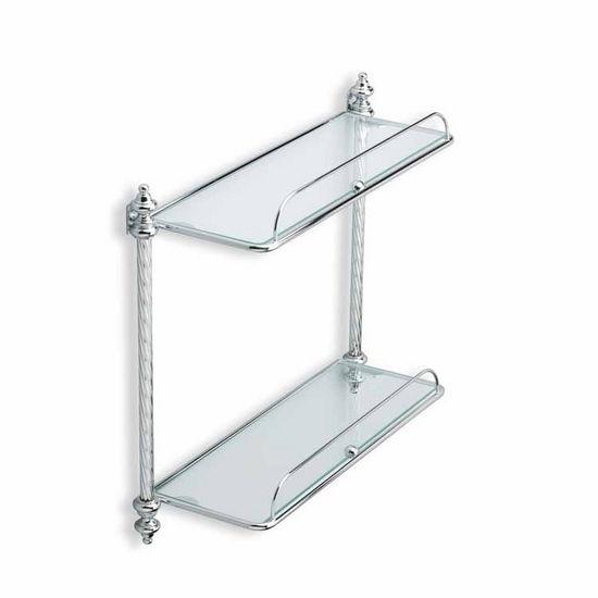Double Glass Shelf