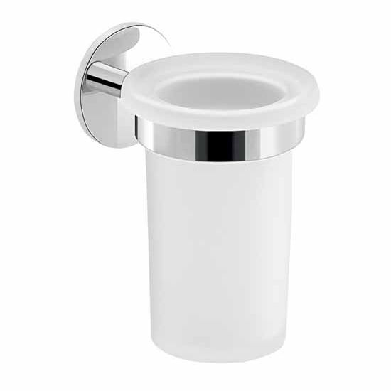 Nameeks Gedy Gea Collection Toothbrush Holder, Chrome