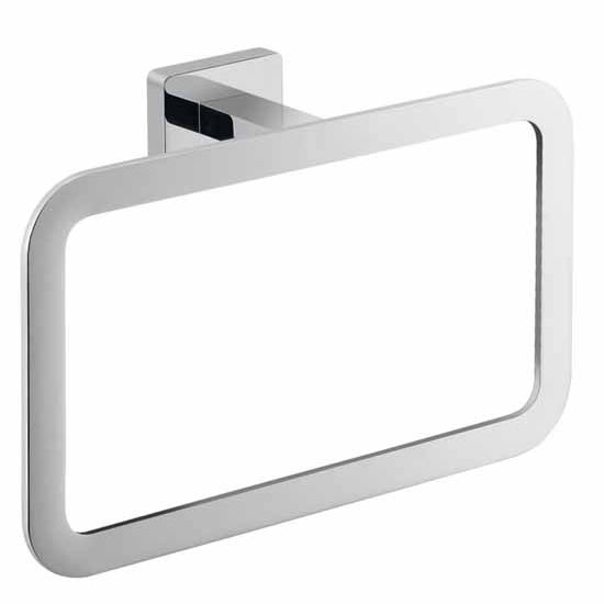 Nameeks Gedy Atena Collection Towel Ring, Chrome