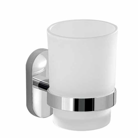 Nameeks Gedy Febo Collection Toothbrush Holder, Chrome