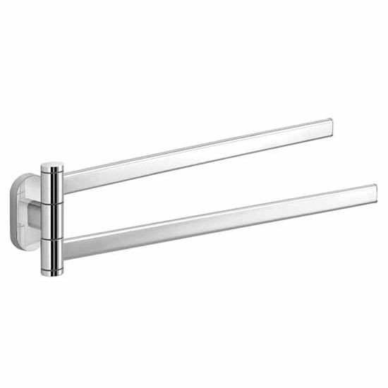 Nameeks Gedy Febo Collection Swivel Towel Bar, Chrome