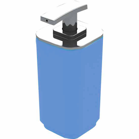 Nameeks Gedy Seventy Collection Soap Dispenser, Blue