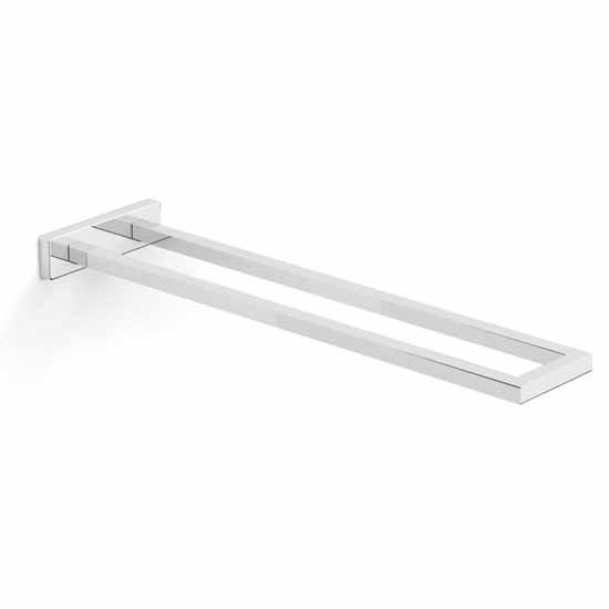 Nameeks Gedy Elba Collection Towel Bar, Chrome