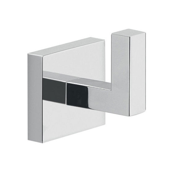 Nameeks Gedy Elba Collection Bathroom Hook, Chrome