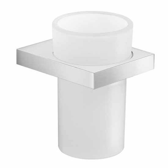 Nameeks Gedy Lanzarote Collection Toothbrush Holder, Chrome