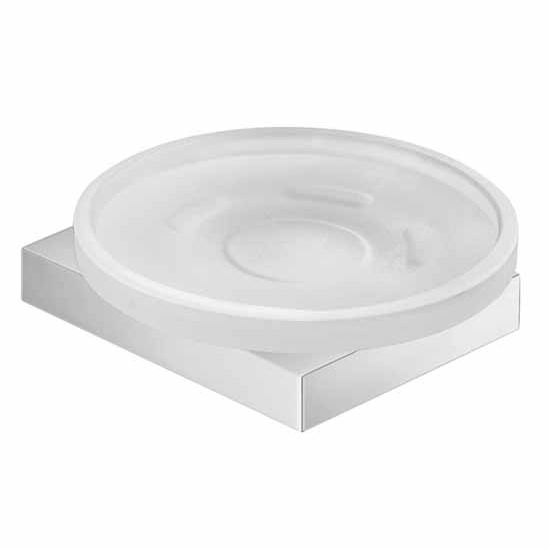 Nameeks Gedy Lanzarote Collection Soap Dish, Chrome