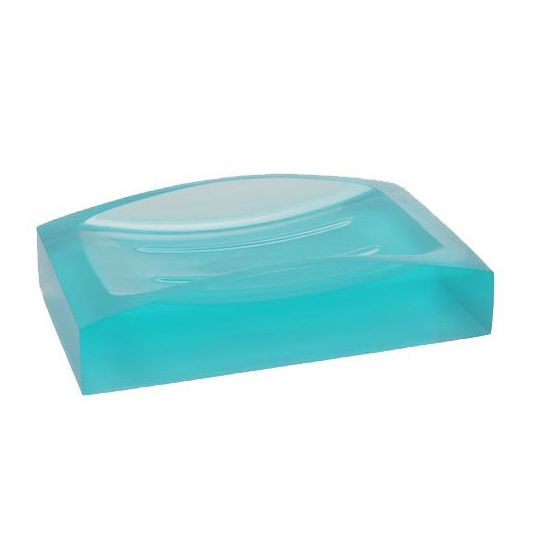 Nameeks Gedy Antares Collection Soap Dish, Turquoise