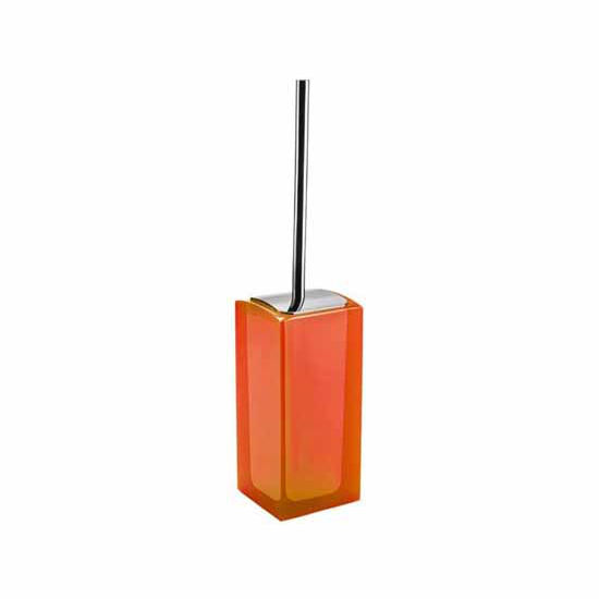 Nameeks Gedy Antares Collection Toilet Brush, Orange