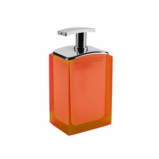 Nameeks Gedy Antares Collection Soap Dispenser, Orange