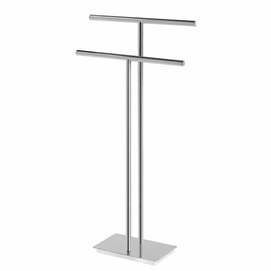 Nameeks Gedy Bermuda Collection Towel Stand, Chrome
