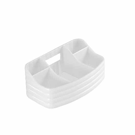 Nameeks Gedy Glady Collection Makeup Tray, White