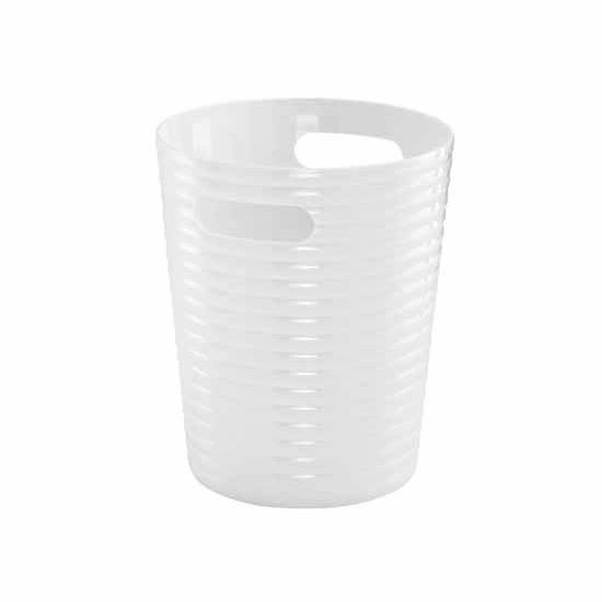 Nameeks Gedy Glady Collection Waste Basket, White
