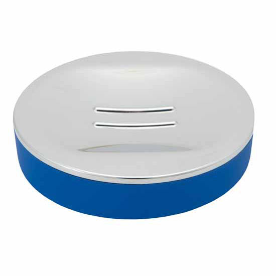 Nameeks Gedy Luna Collection Soap Dish, Blue