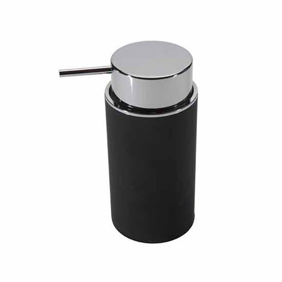 Nameeks Gedy Luna Collection Soap Dispenser, Black