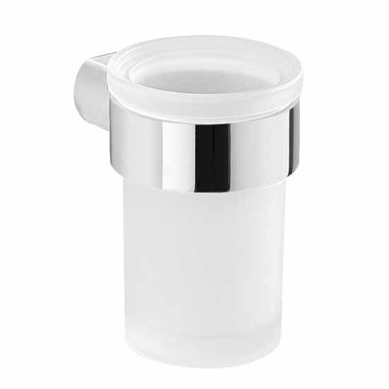 Nameeks Gedy Pirenei Collection Toothbrush Holder, Chrome