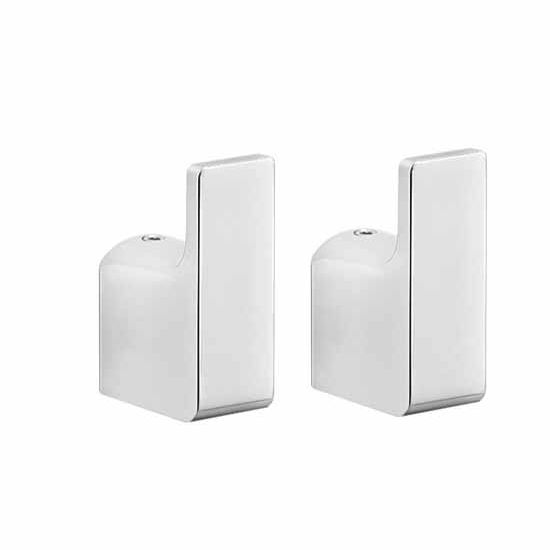 Nameeks Gedy Pirenei Collection Bathroom Hook, Chrome