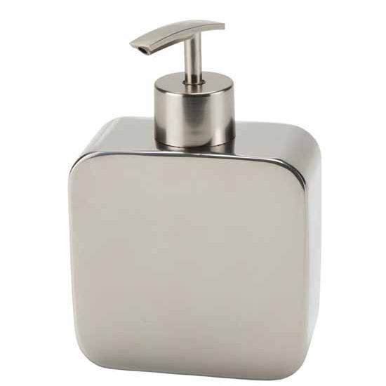 Nameeks Gedy Polaris Collection Soap Dispenser, Chrome