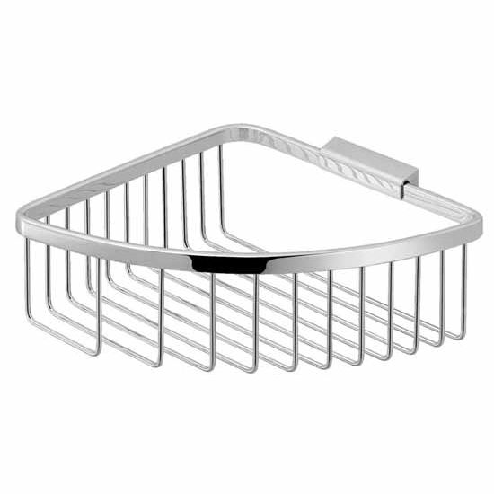 Nameeks Gedy Trinidad Collection Shower Basket, Chrome
