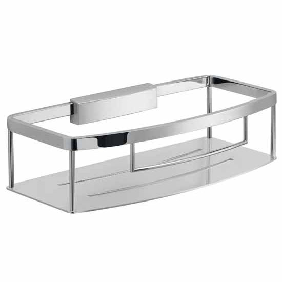 Nameeks Gedy Tobago Collection Shower Basket, Chrome