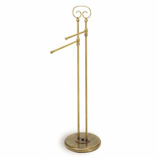 Brass Towel Stand