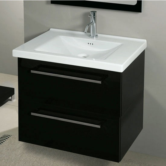 Fly Fl8 Wall Mounted Single Sink Bathroom Vanity Set Includes Main Cabinet And Sink Top Ada