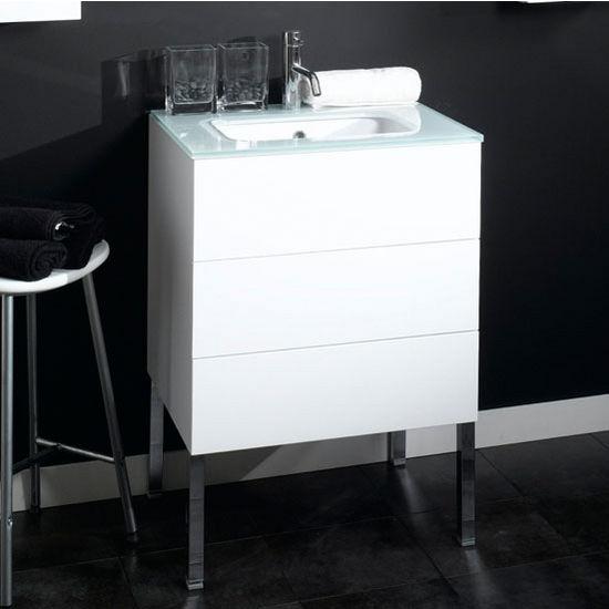 Time nt3 wall mounted single sink bathroom vanity set for Ada compliant bathroom sink vanity