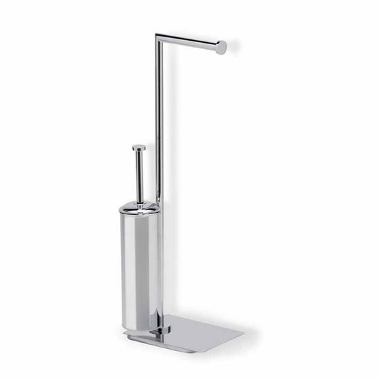 Chrome 2-Function Bathroom Butler