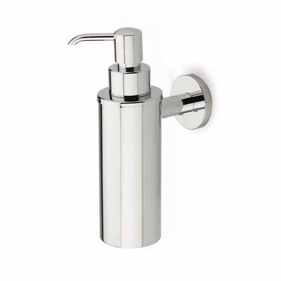 Round Chrome Soap Dispenser