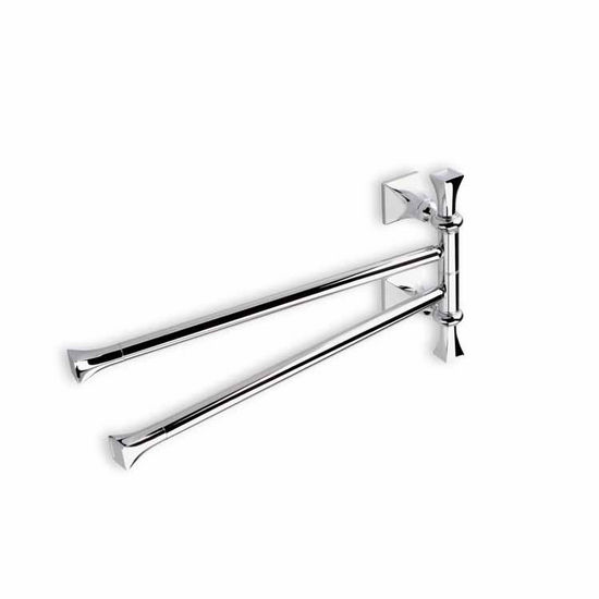 Swivel Double Towel Bar