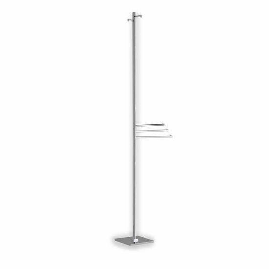 Chrome Robe and Towel Stand