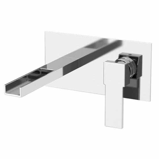 Nameeks Remer Qubika Cascade Collection Wall Mounted Bathroom Faucet ...