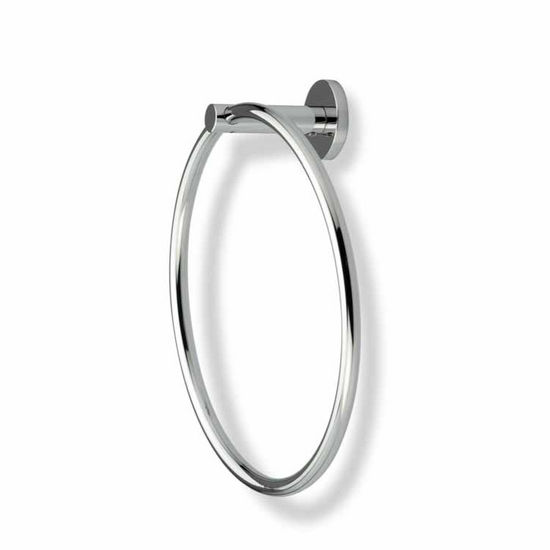 Chrome Circle Towel Ring