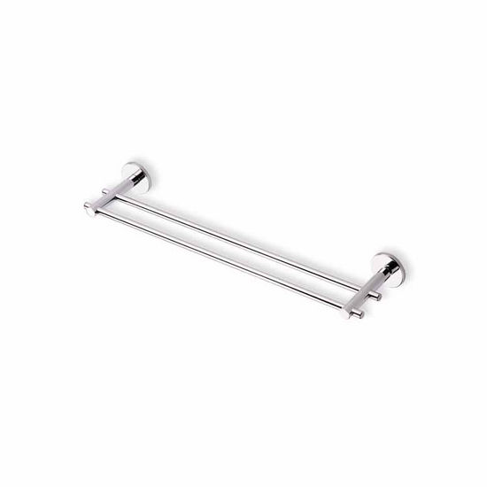 Chrome 18 Inch Double Towel Bar