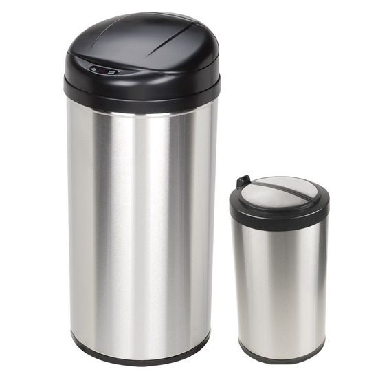 Nine Stars Trash Cans, Set of 2