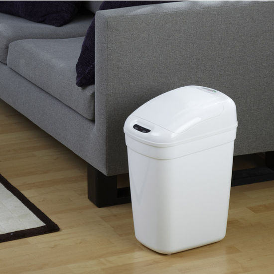 7-Gallon Plastic Infrared Trash Can