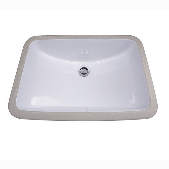 Great Point Collection Glazed Bottom Undermount Rectangle ...
