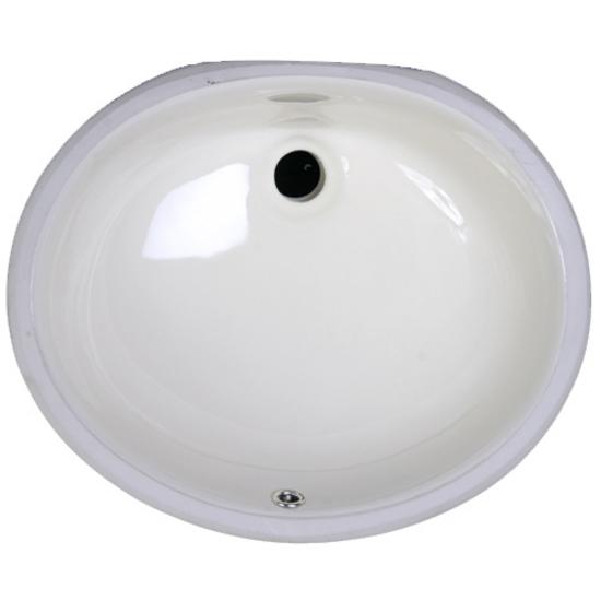 Oval Ceramic Sink by Nantucket Sinks