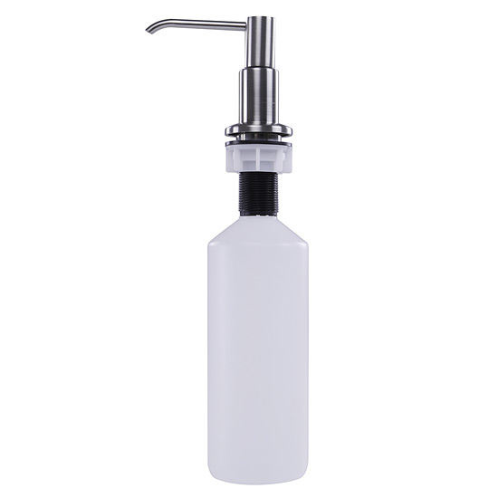 Nantucket Sinks Pump Action Soap Dispenser in Brushed Nickel