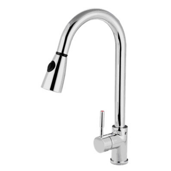 Nantucket Sinks Pull-Down Gooseneck Faucet