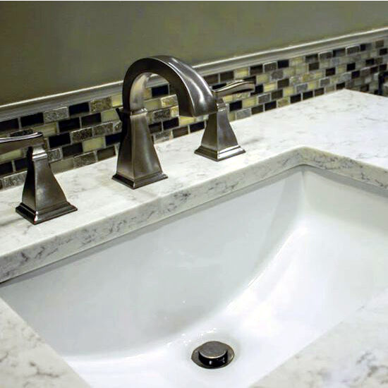 Rectangular Ceramic Bathroom Sink by Nantucket Sink