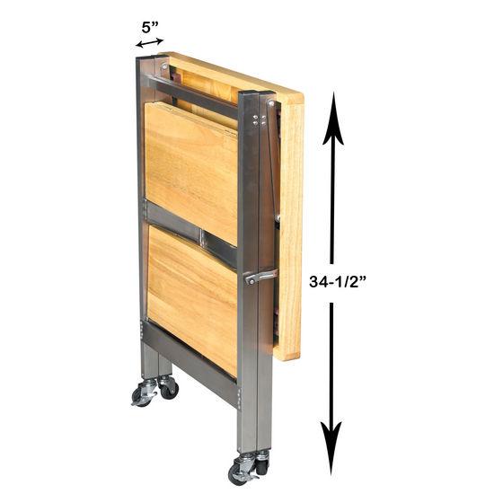 Kitchen Island Accessories: Kitchen Carts - Kitchen Folding Carts By Oasis