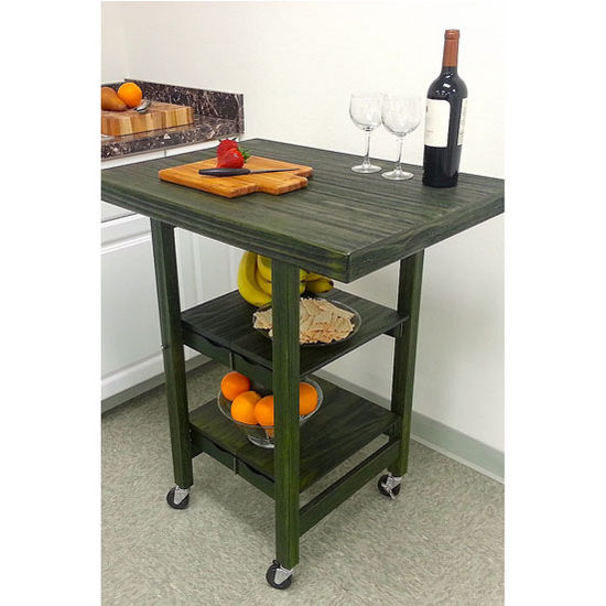 oa kk 3039b textured wood rectangular kitchen island in