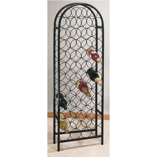 Tall Arch Top Wine Rack by Old Dutch
