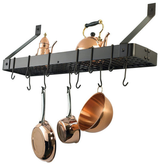 Pot Racks - Wall Mount Pot Racks by Old Dutch ...