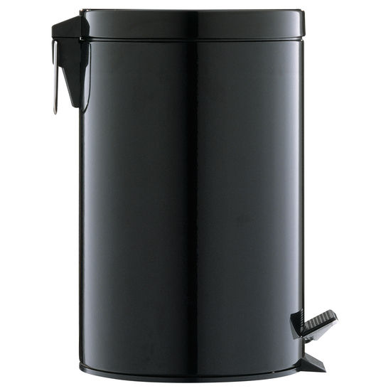 Neu Home Black Step-On Trash Can