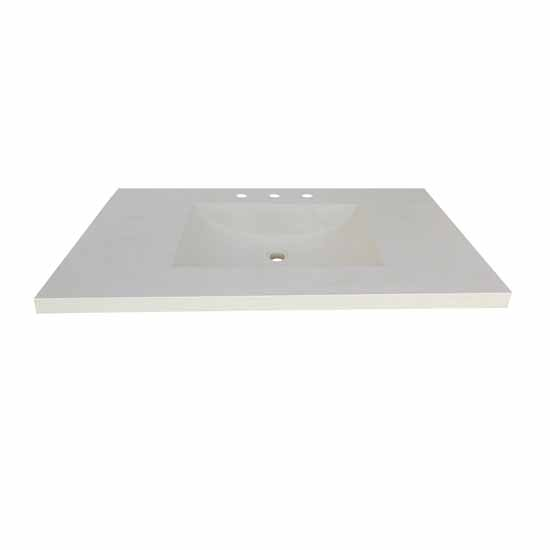Palomar Bathroom Vanity Top Only With Integral Bathroom Sink Measuring 30 36 48 Width By Native Trails Kitchensource Com