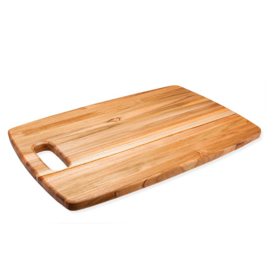 Proteak Marine Collection Rounded Rectangle Cutting Board, 18''W x 12''D x 3/4''H