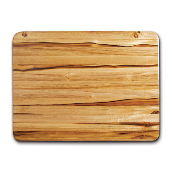 "Proteak Edge Grain Rectangle Cutting Board, 20"" W x 15"" D x 1-1/2"" H, with Hand Grip"